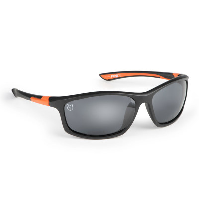 Fox Black/Orange Frame/Grey Lens Sunglasses
