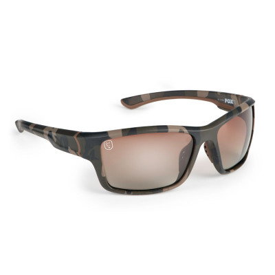 Fox Camo Frame/Brown Gradient Lens Sunglasses
