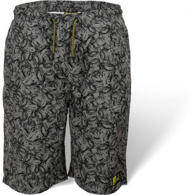 Black Cat Beach Shorts grau/schwarz