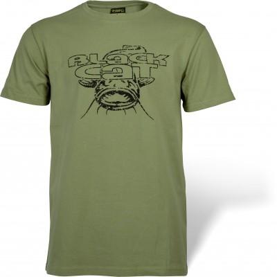 Black Cat Military Shirt