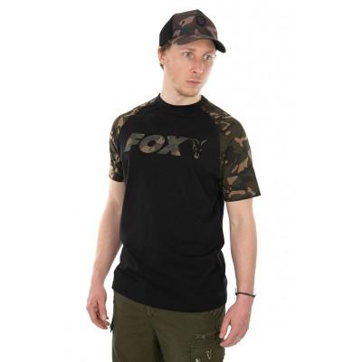 Fox Black/Camo Raglan T-Shirt