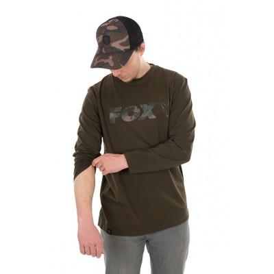 Fox Khaki/Camo Long Sleeve T-Shirt