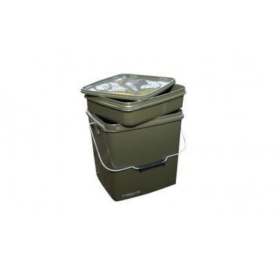 Trakker 13 Litre Olive Square Container