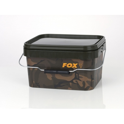 Fox Camo Square Bucket 5 Liter