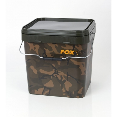 Fox Camo Square Bucket 17 Liter