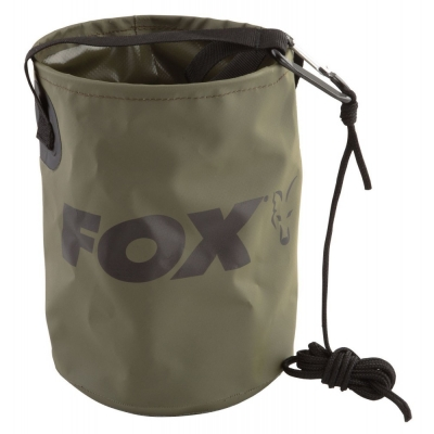 Fox Collapsible Water Bucket inc. Cord & Clip