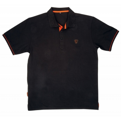 Fox Black/Orange Polo Shirt