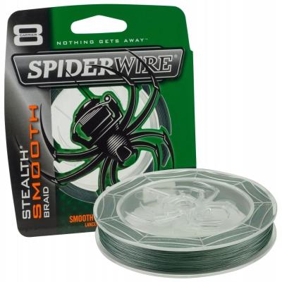 Spiderwire Stealth Smooth 8 Moss Green Meterware
