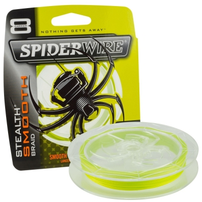 Spiderwire Stealth Smooth 8 Yellow Meterware