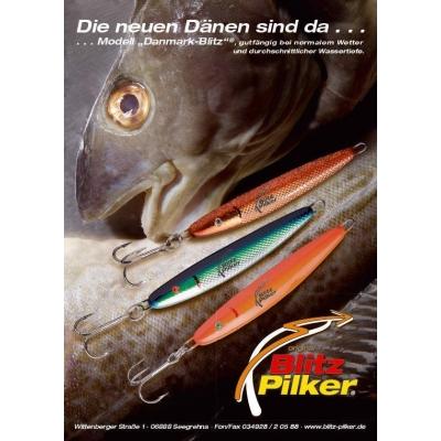 """Blitz-Pilker """"Danmark-Blitz"""" 150 g"""