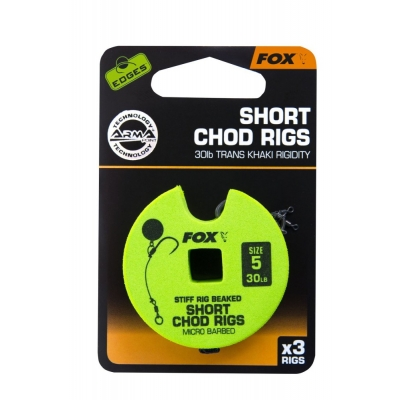 Fox Short Chod Rigs