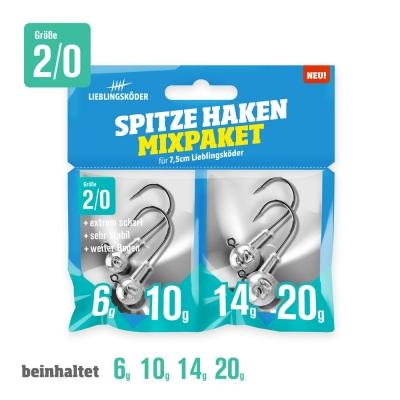 Lieblingsköder Spitze Haken Mixpaket