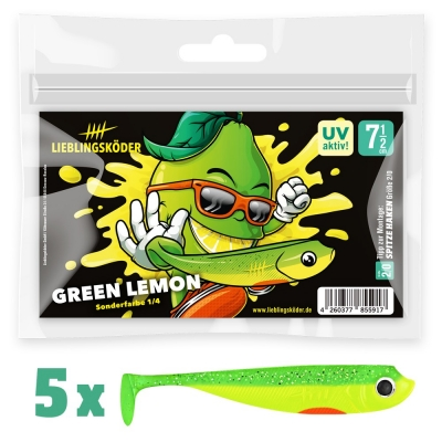 Lieblingsköder Green Lemon 7,5cm