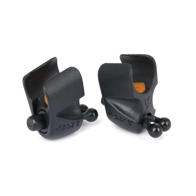 Fox Black Label Adjustable Rod Clips x2