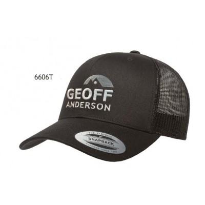 Geoff Anderson Snapback schwarz