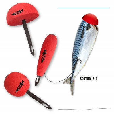 Quantum Mr.Pike Bait Pop Up Kit Rot