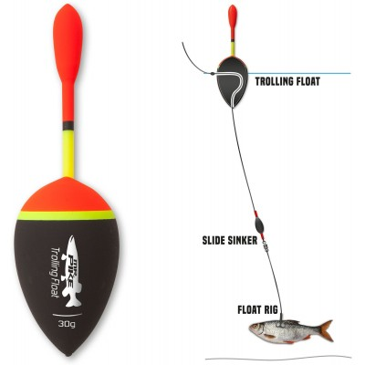 Quantum Mr.Pike Trolling Float 125mm