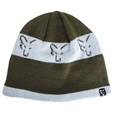 Fox Green/Silver Beanie