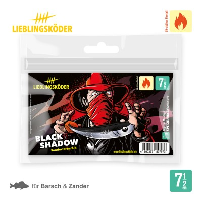 Lieblingsköder Black Shadow 7,5cm