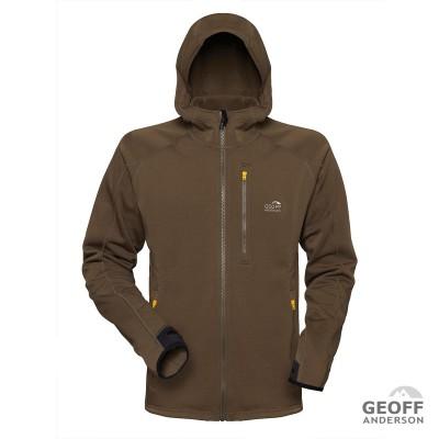 Geoff Anderson Power Hoodie 3 grün