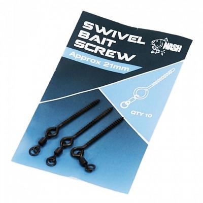 Nash Swivel Bait Screw 21mm