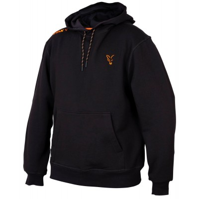 Fox Collection Black & Orange Hoodie