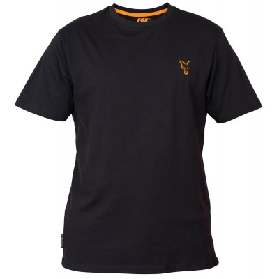 Fox Collection Black & Orange T-Shirt