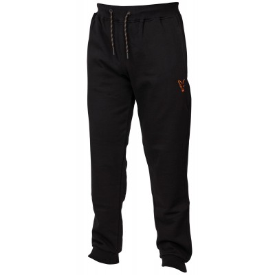 Fox Collection Black & Orange Joggers