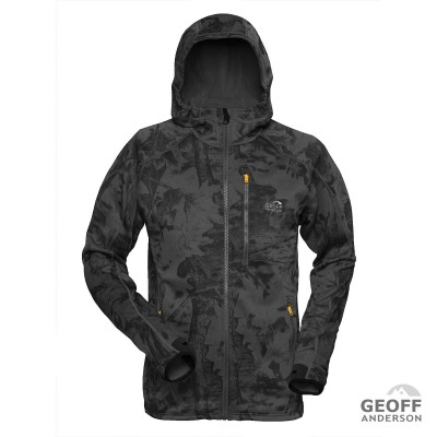 Geoff Anderson Power Hoodie 3 Black Leaf