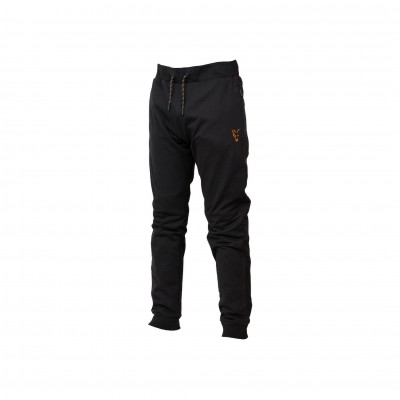 Fox Collection Black & Orange Lightweight Joggers