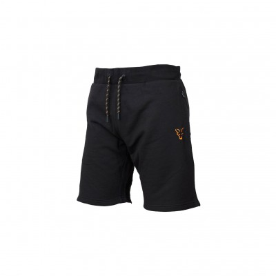 Fox Collection Black & Orange Lightweight Shorts