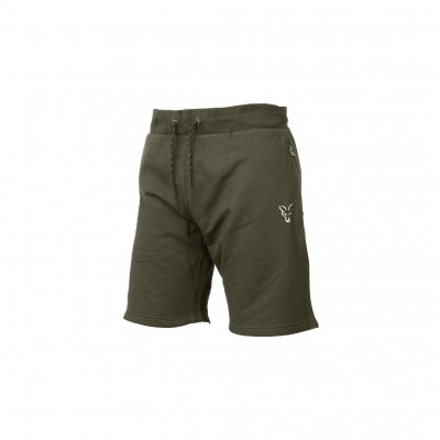 Fox Collection Green & Silver Lightweight Shorts