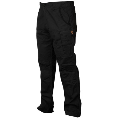 Fox Collection Black & Orange Combat Trousers