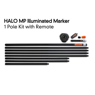 Fox HALO ILLUMINATED MARKER POLE – 1 POLE KIT INCLUDING REMOTE