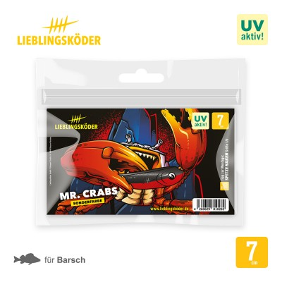 Lieblingsköder Mr. Crabs 7cm