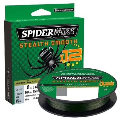 Spiderwire Stealth Smooth 12 Moss Green Meterware